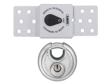 142 Series Sliding Door Van Lock & 26/70mm Diskus® Padlock